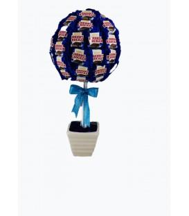 شکلات گلدانی لاکچری رویال بلژیکی