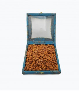بادام درختی شور خارجی1.5 کیلوگرم کادویی ترمه کد2