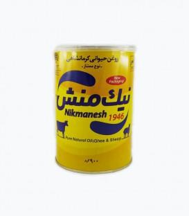 روغن حیوانی کرمانشاهی ممتاز یک لیتر نیک منش