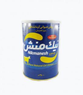 روغن حیوانی کرمانشاهی اطمینان یک لیتر نیک منش