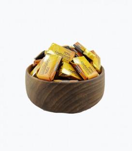 شکلات 70 درصد تلخ قافلانکوه